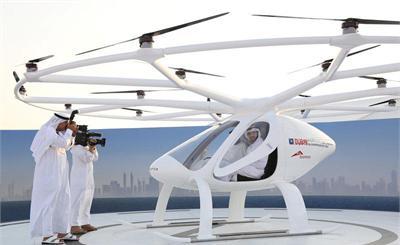 迪拜有望全球首推无人机载客服务