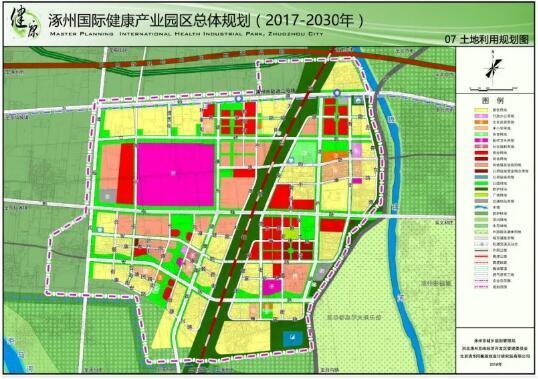 涿州地图高清版3