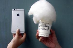棉花糖冰淇淋