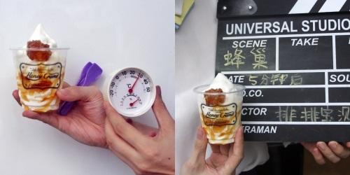 蜂巢冰淇淋融化测试