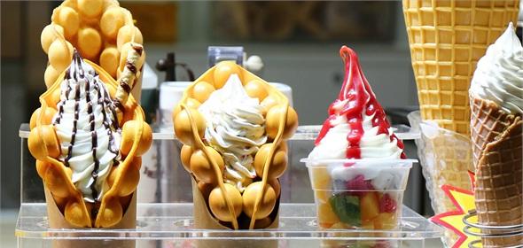 深圳网红冰淇淋,有的吃了能成仙!有的丑得捂脸看