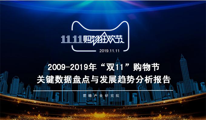 """澳门新濠天地官方赌场产业研究院:2009-2019年""""双11""""购物节关键数据盘点与趋势分析报告"""