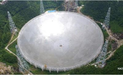 FAST单碟射电望远镜即将完成测试阶段!