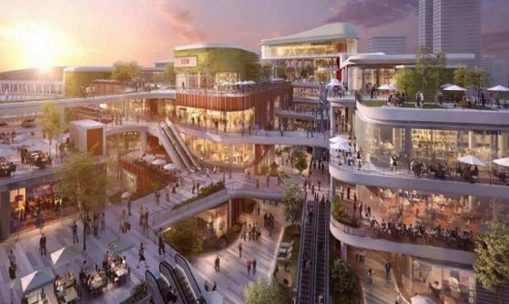 长沙湾田建材家居产业小镇案例