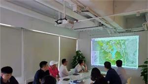 艾美集团负责人与前瞻就惠州美康生物产业硅谷园规划项目展开洽谈