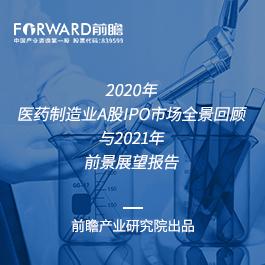 2020年医药制造业A股IPO市场全景回顾与2021年前景展望报告