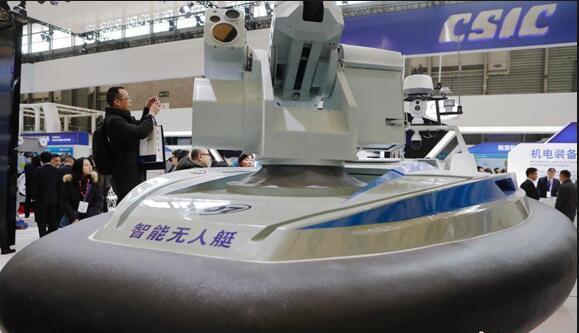 中国造最快无人艇