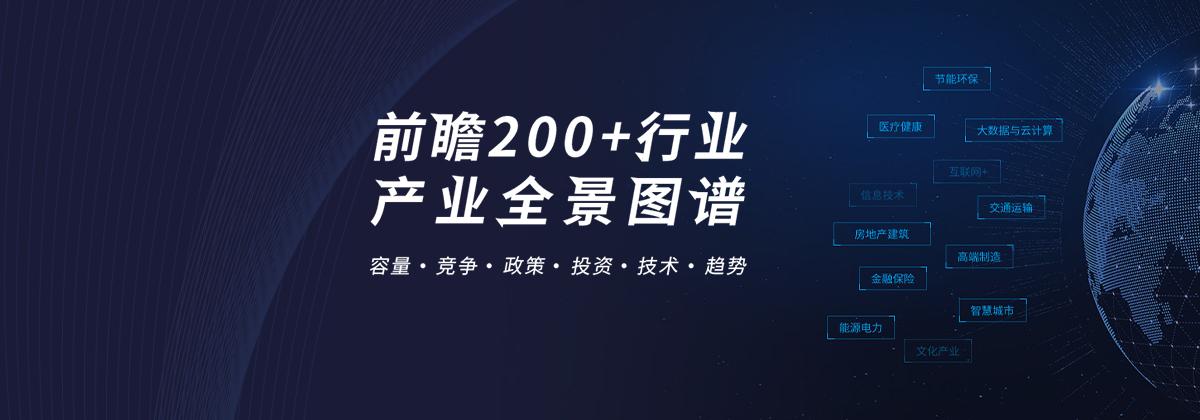 200大行业全景图谱【容量+竞争+政策+技术+趋势】