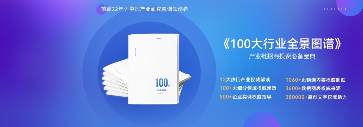 100大行業全景圖譜【容量+競爭+政策+技術+趨勢】