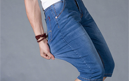 2017年十款50-100元轻薄舒适的男士牛仔短裤