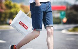 2017年天猫平台十大男士牛仔短裤品牌热销排行榜