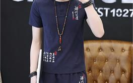 2017年十款50-100元舒适的中国风男T恤排行