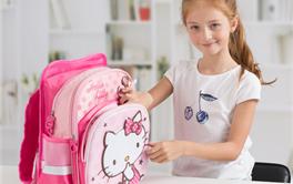 2017年减负护脊女童公主书包排行榜--凯蒂猫主题篇