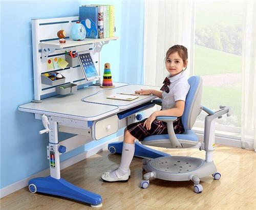 西昊 儿童学习桌椅可升降儿童写字桌椅套装