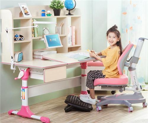 心家宜 可升降儿童学习桌椅套装