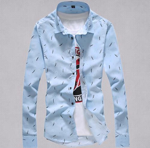 索邦卡 休闲长袖衬衫