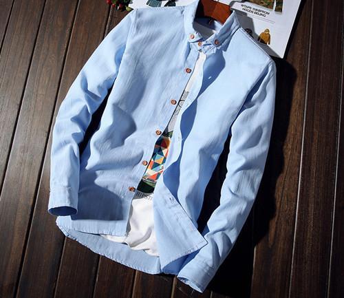 途捷 休闲长袖衬衫
