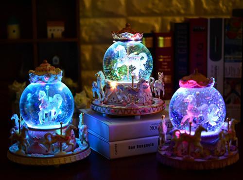 Elf House/精灵屋 水晶球音乐盒