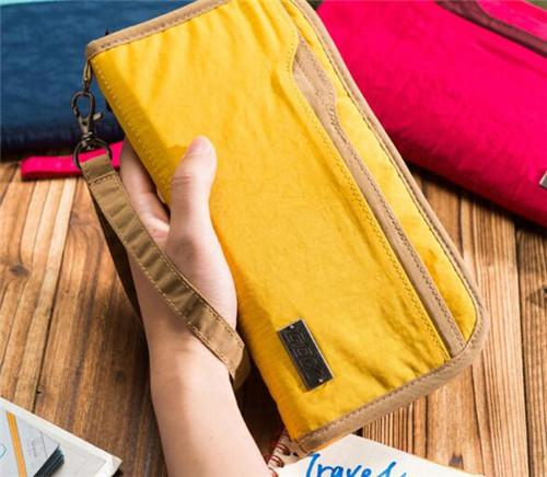 gox 多功能旅行护照包防水证件收纳包
