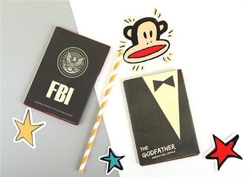 杰葳 新护照保护套机票夹多功能证件包