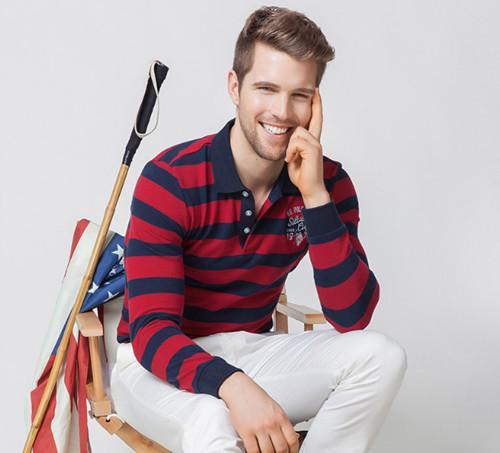 U.S. POLO ASSN. 长袖Polo衫