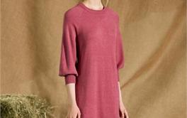 2017年200-500元的秋款优雅针织连衣裙排行