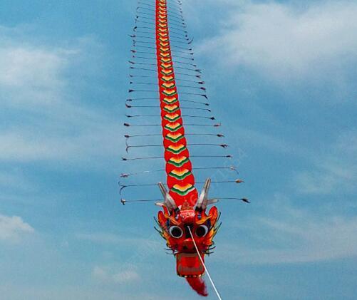 潍坊杨家埠风筝商城 龙头风筝