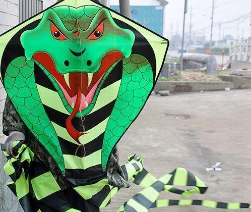 一分利潍坊风筝 大型眼镜王蛇风筝