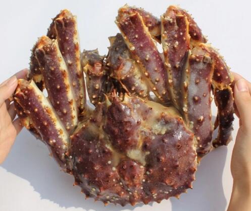 蓬莱仙岛海产品 鲜活急冻生帝王蟹