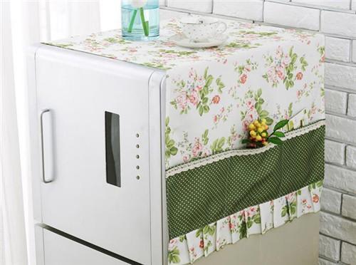 温恋 冰箱盖布冰箱罩防尘罩