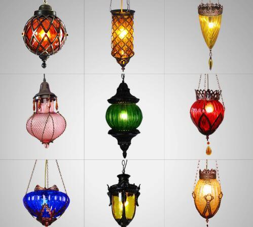 洛塔灯饰 东南亚琉璃吊灯