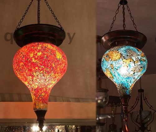 hqy64889 土耳其琉璃装饰灯