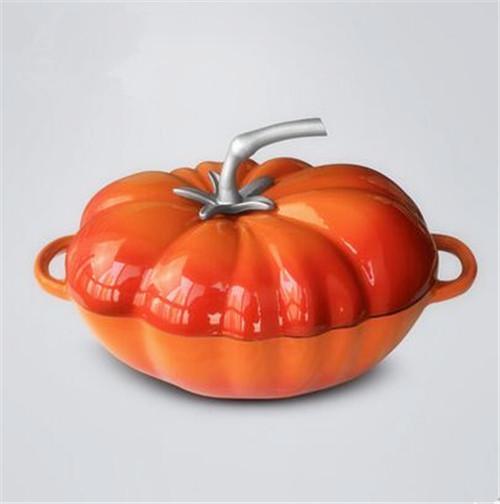 铁工房 番茄铸铁炖锅加厚珐琅铸铁锅