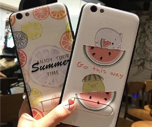 起司 夏季柠檬西瓜手机壳