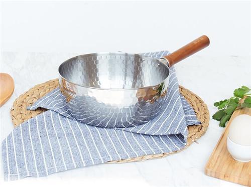 嘉士厨 日本雪平锅不锈钢小奶锅