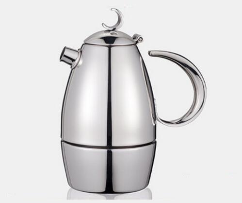CAFEDE KONA 加厚304不锈钢意式摩卡壶