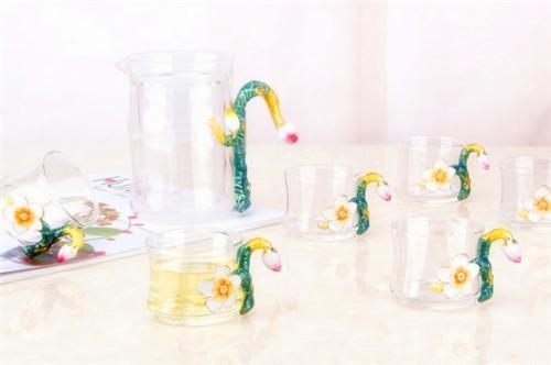 诺诗曼 珐琅彩茶杯套装