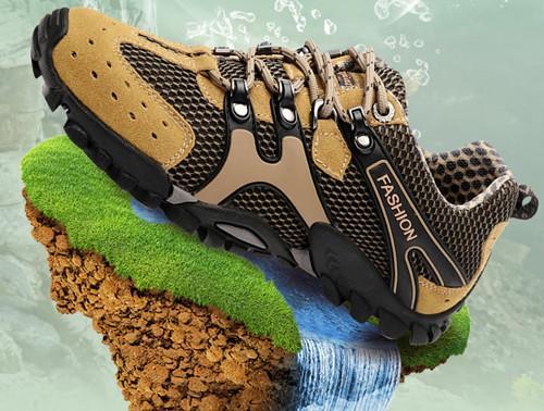 乐嘉途 A832男徒步鞋
