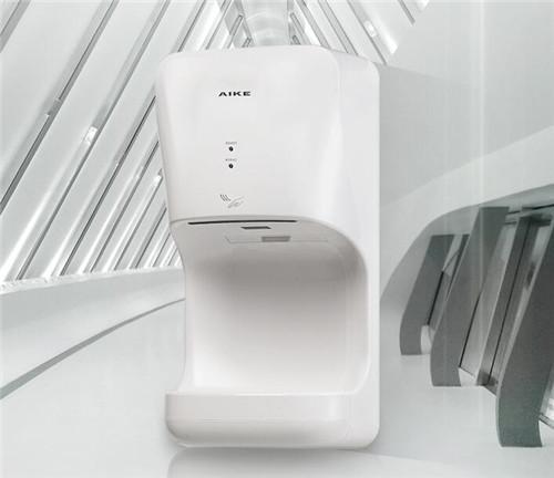 AIKE/艾克 高速干手机全自动感应壁挂式干手器烘手器