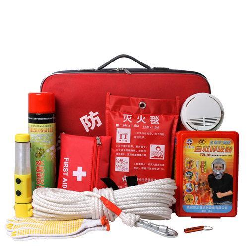 3M 消防应急箱急救包消防器材火灾逃生套装