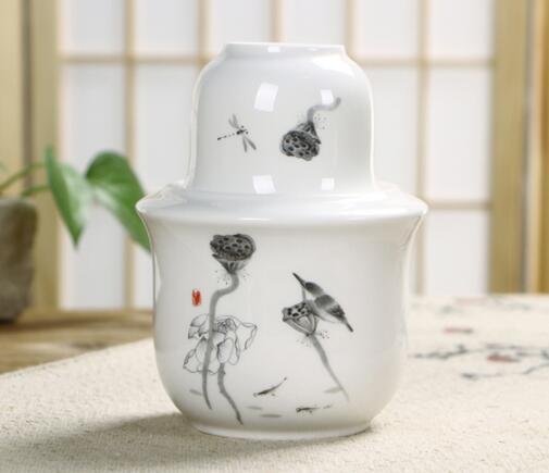 博晟 家用陶瓷烫酒壶