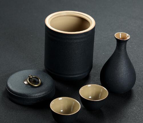 罐之家 陶瓷烫酒壶