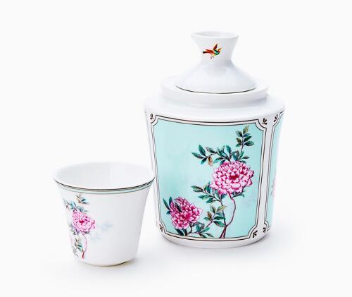 MIRACLE DYNASTY/玛戈隆特 中国花园骨瓷温酒器套装