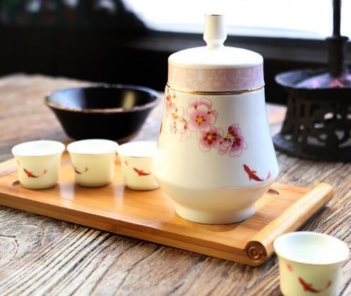 硅元 【醉花阴】高石英瓷中式温酒壶