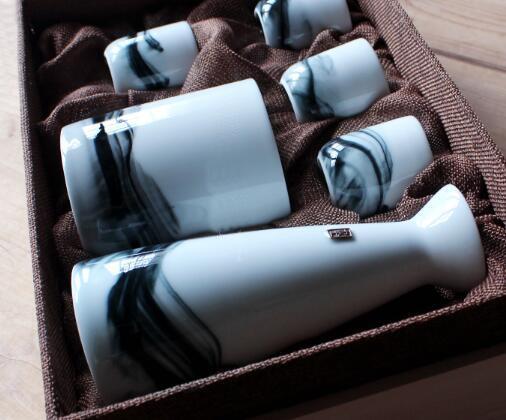九土 日式温酒壶套装