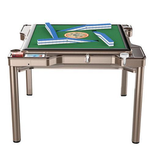 国喜 麻将机全自动餐桌两用家用静音电动麻将桌