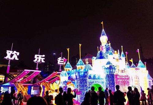 深圳欢乐谷幻彩灯光节