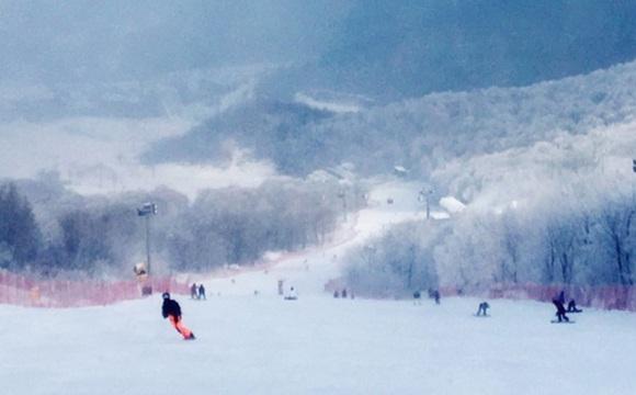 万科松花湖滑雪场