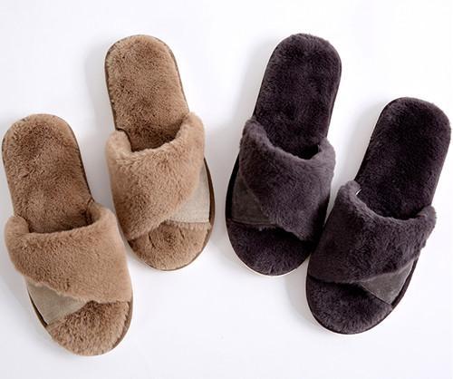 南极人 0111男冬季拖鞋