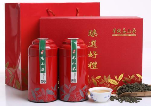 尚轩高山乌龙茶叶礼盒